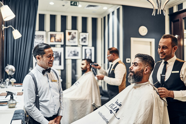 Book Now Barber Shop Dubai Mercato Shopping Mall