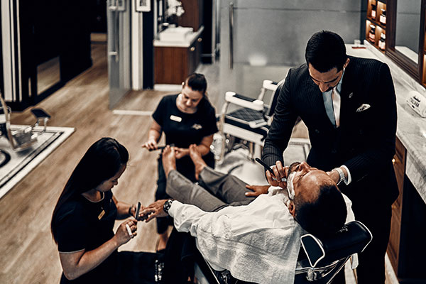 barber shops in Dubai the Experience